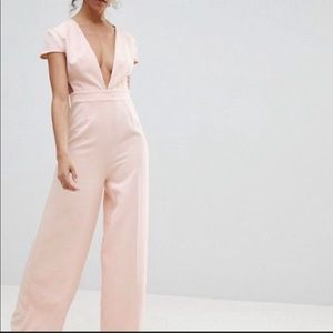 ISO ASOS baby pink jumpsuit 12 or 14! DO NOT BUY.